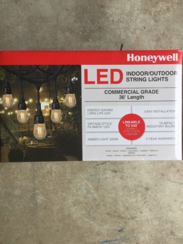 sports shoes ea632 20850 Honeywell 36 Commercial Grade LED Indoor/Outdoor String ...
