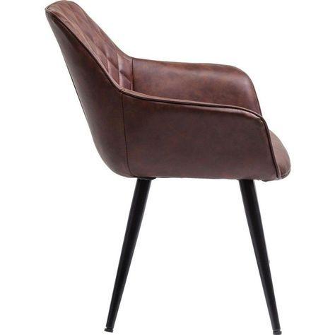 Chaise avec accoudoirs Harry | Chaise accoudoir, Chaise