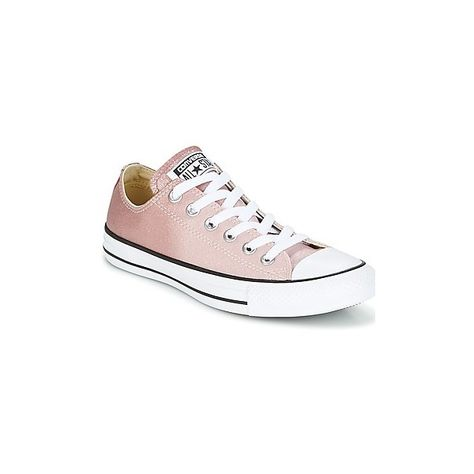 5e39e1d8b9f Converse Chuck Taylor All Star Ox Ombre Metallic Shoes (Trainers) (£57) ❤  liked on Polyvore featuring shoes