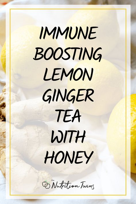 Immune Boosting Lemon Ginger Tea with Honey. This delicious tea is an easy way to boost immunity. Flood your body with antioxidants and the benefits of manuka honey. Perfect for an anti-inflammatory diet plan. More tips to boost immune system. #sponsored @NowFoods #immunity #health #tips