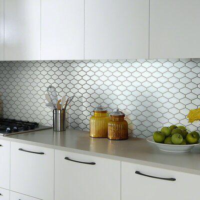 Shaw Floors Sophisticated Porcelain Mosaic Tile In 2021 Modern Kitchen Tiles Contemporary Backsplash Small