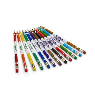 Crayola Erasable Colored Pencils 12ct Erasable Colored Pencils