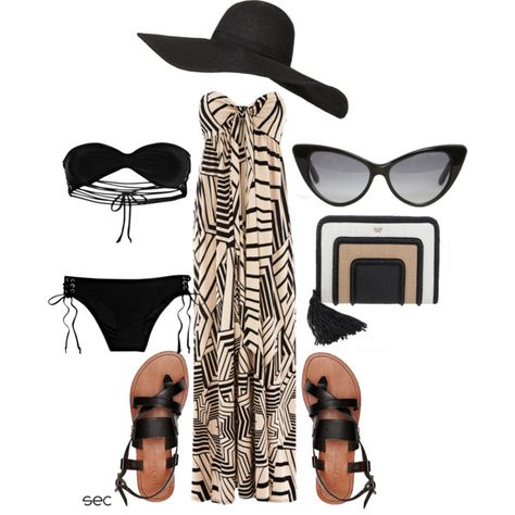 Resort wear, created by coombsie24 on Polyvore
