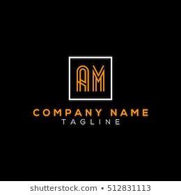 Am Logo Cool Lettering Logo Images Letter Logo