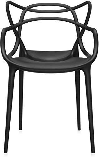 Best Seller Kartell Masters Chair Pack 2 Black Online In 2020
