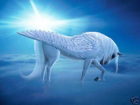Celestial Pegasus Cross Stitch Chart Bn! (Peg02)