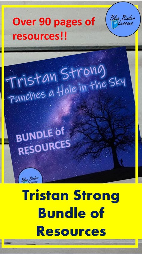 Tristan Strong Punches a Hole in the Sky teacher resources