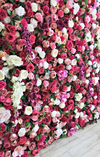 Fake As Flower Wall Flower Wall Wedding Flower Wall Backdrop