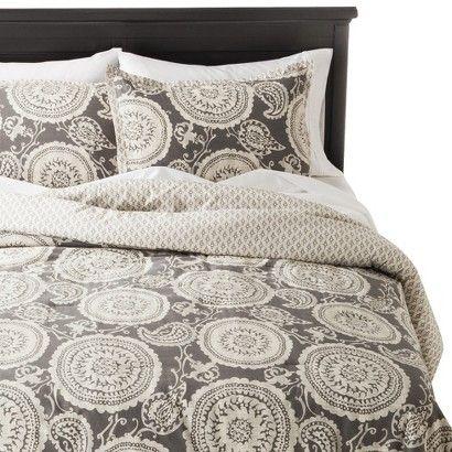 Threshold Suzani Comforter Set, Target Gray Bedding Sets