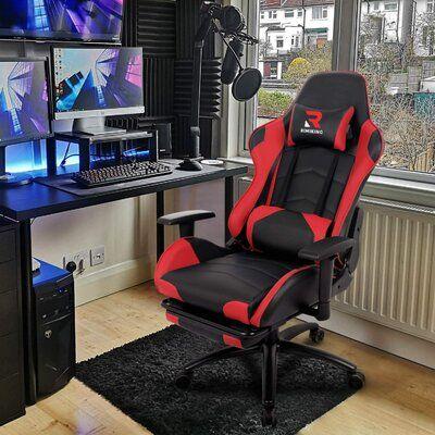 Rimiking Massage Ergonomic Gaming Chair Wayfair In 2020 Gaming Chair Game Room Kids Gamer Room