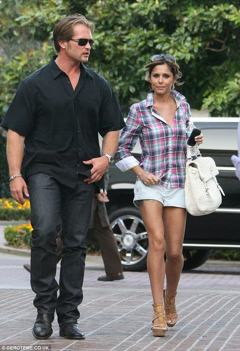 Craig Balkam (left) was the boss of a bodyguard agency when he was hired by Cheryl Cole (r...