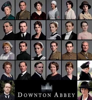 Resultado De Imagem Para Elenco De Downton Abbey Atores E