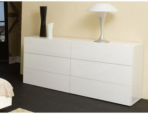 Temahome Aurora Kommode Mit 6 Schubladen 180cm Nussbaum In 2020 Dresser Furniture Contemporary Dresser White Chest Of Drawers