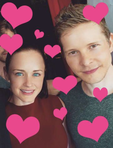 This Selfie Of Rory Gilmore And Logan Huntzberger Will Make Your