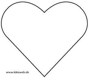 Vorlage Herzen Herz Vorlage Vorlage Stern Sterne Zum Ausdrucken