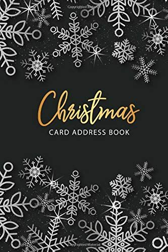 Christmas Card List 2019 Christmas Card Address Book: Christmas Card List Tracker for