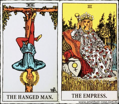 4/8/16 #TarotNumerology #Tarot #TheHangedMan #TheEmpress #EnergyOfTheDay #InsightsFromTheTarot #WisdomOfTheTarot #ARNAPSreadings    Know that you are supported by a Higher Power. Step away from all that's occupying your thoughts - you will not get the answers you seek by sorting through a full mind.  The answers will come when you make the effort to BE in the present moment. Stillness creates space between the thoughts, which then allows inspiration to flow through.  💜 Vanda xx