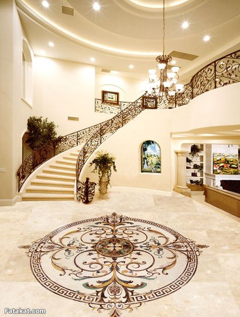 Luxury Marble Flooring Design Buscar Con Google Huis Interieur