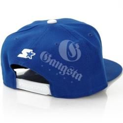 Streetz Iz Watchin Scroll Snapback Royal StarterStarter