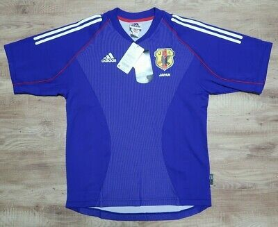 Details About Japan Soccer Jersey Football Shirt 100 Original 2002 World Cup Home M Nwt In 2020 Japan Soccer Jersey Japan Soccer Football Shirts