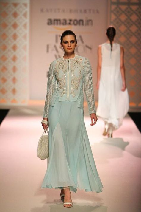 d2bfcb47f6 20 Favourite Outfits from Amazon India Fashion Week! Spring Summer 2016 –  An Indian Wedding Blog