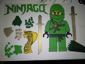 Das Creativchen Ein Bastel Set Fur Ninjago Schultuten Ninjago Schultute Schultute Basteln Schultute Selber Basteln
