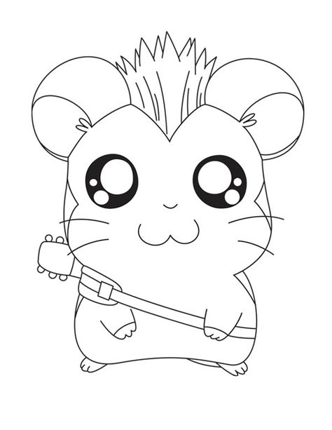 Hamtaro The Rock Star Coloring Pages Bulk Color Star Coloring Pages Zoo Coloring Pages Coloring Pages
