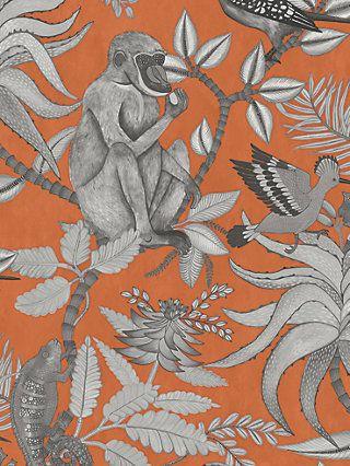 Osborne Little Derwent Wallpaper Charcoal W5796 01 In