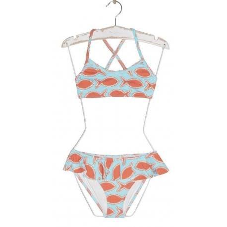 Bikini Peces Naranja Jose Varon Bikinis Bikini Para Ninas Y Parte Superior Del Bikini