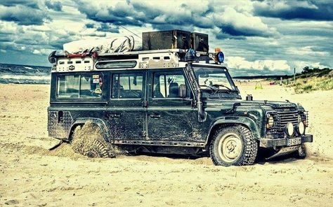 Land Rover Defender 110 Td5 sw County adventure in difficult mode...lol) Lobezno.