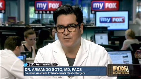 Did you miss Dr. Armando Soto's appearance on Fox Business? You can watch it here: http://bit.ly/1mSAFUs