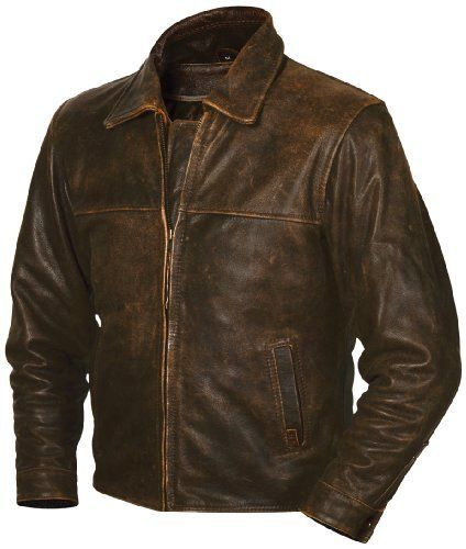 The Rifleman Is Constructed From Genuine Bovine Full Grain Leather And Features A Full Body Zippe Brown Leather Jacket Men Leather Jacket Men Brown Jacket Men