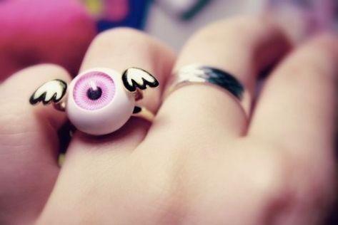 c47808d45234 ojo-anillo. ojo-anillo. Подробнее... 27 Accesorios llenos de ojos para  chicas cero quisquillosas