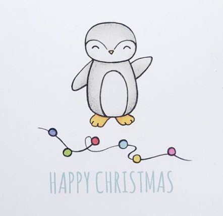 30 Super Ideas For Drawing Christmas Cards Noel Christmas Cards Drawing Hand Drawn Christmas Cards Cute Christmas Cards