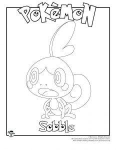 Sobble Coloring Page Woo Jr Kids Activities Pokemon Coloring Pages Pokemon Coloring Coloring Pages