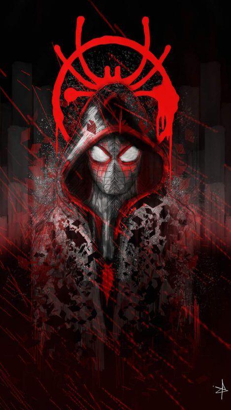 Spiderman Art IPhone Wallpaper - IPhone Wallpapers
