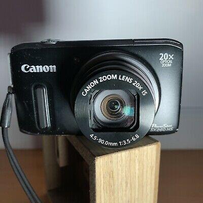 Canon Powershot Sx260 Hs Model Pc1742 12 1mp Gps 1080p Digital Camera Powershot Camera