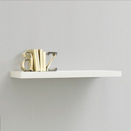 Inplace Shelving 23 6 W X 10 2 D H Floating Wood Wall