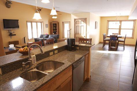 Morton Buildings custom home interior in Carlinville, Illinois.