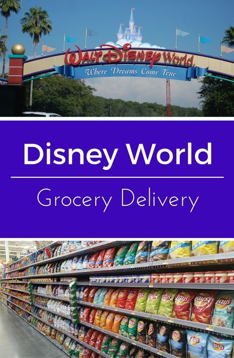 Grocery Delivery at Disney World | Disney Trip | Disney world hotels