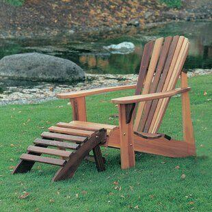 Union Rustic Ardoin Child Solid Wood Adirondack Chair   Wood