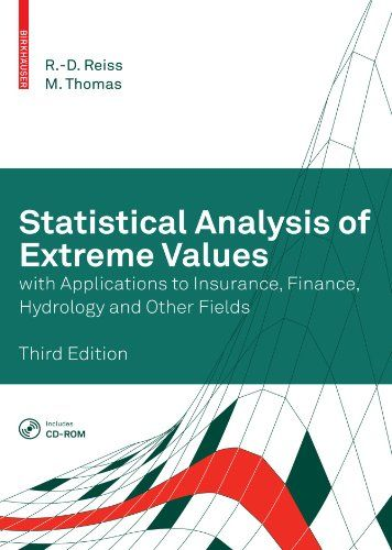 Statistical Analysis Of Extreme Values With Applications To