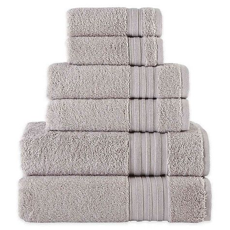 Laural Home Spa Collection 6 Piece Bath Towel Set In 2020 Home