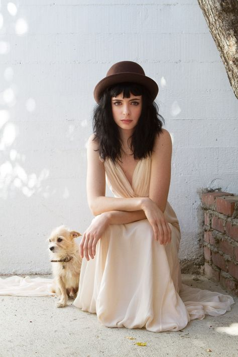 Beautiful, badass and smart Krysten Ritter. She is my kind of woman ;)