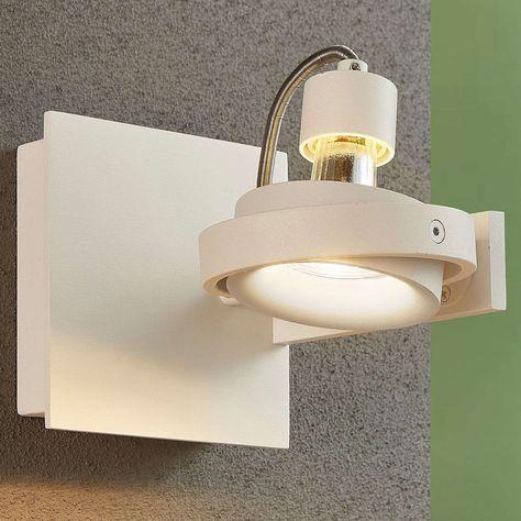 Teska Spot Bianco Con Attacco Gu10 Di A Href Http Lampenwelt Com Http Lampenwelt Com A Nel 2020 Led Faretti Design Moderno