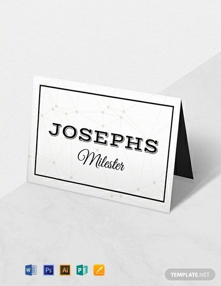 Free D U Wedding Place Card Template Word Doc Psd Apple Mac Pages Illustrator Publisher Place Card Template Wedding Place Card Templates Place Card Template Word