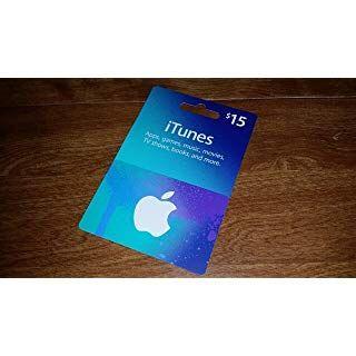 Apple Itunes Prepaid Card 15 Itunes Gift Cards Apple Tv Itunes