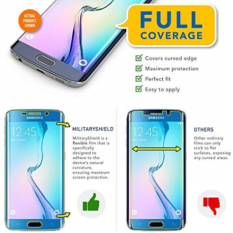 Samsung Galaxy S7 Edge Screen Case Friendly Screen Protector NEW!! ArmorSuit