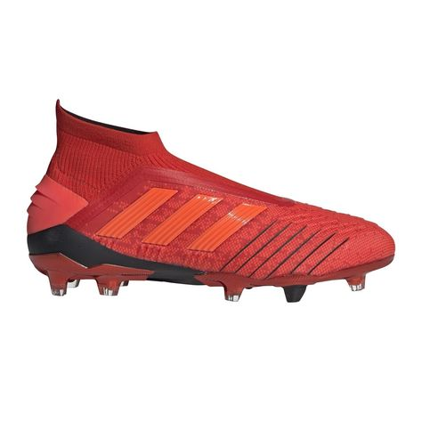 Chaussures Football Predator 19 Fg Rouge - Taille : 41 1/3;42;42 ...