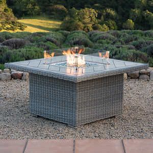 Niko Fire Table For Patio Area Fire Table Gas Fire Table Fire Pit Table Set